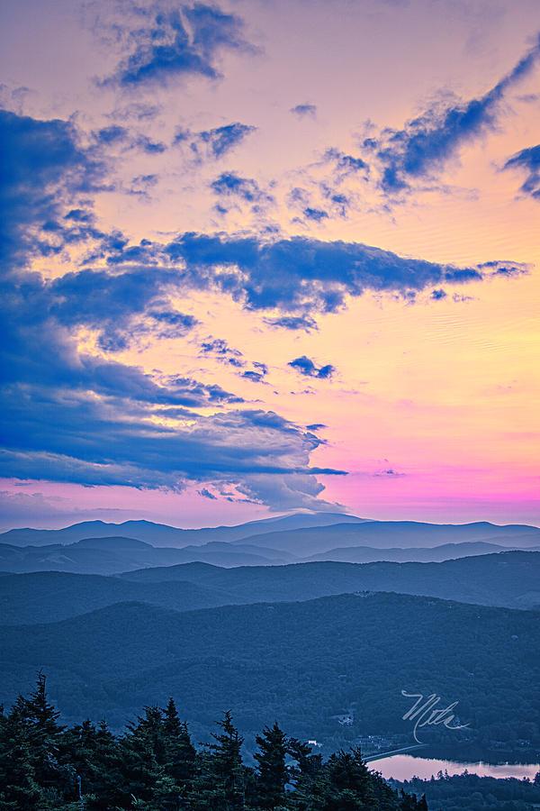 Pink Sunset by Meta Gatschenberger