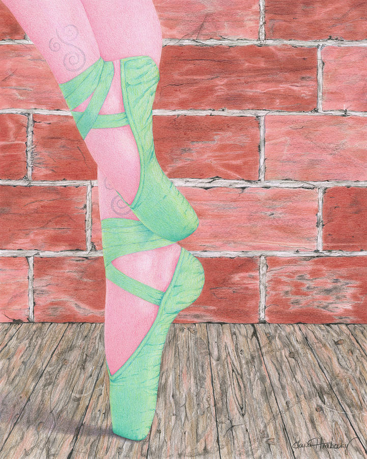 Pink Tights and Tattoos by Diana Hrabosky