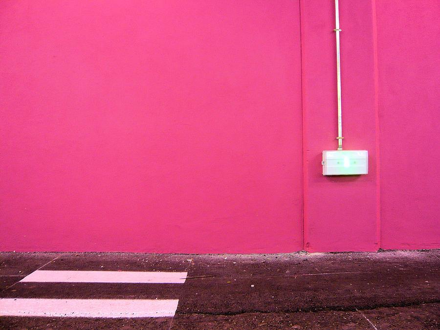 Pink Wall  Mur Rose Photograph by Stéfan Le Dû