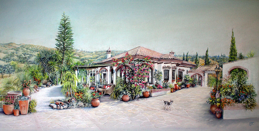 Painting Painting - Pintura De La Casa by Rosemary Colyer