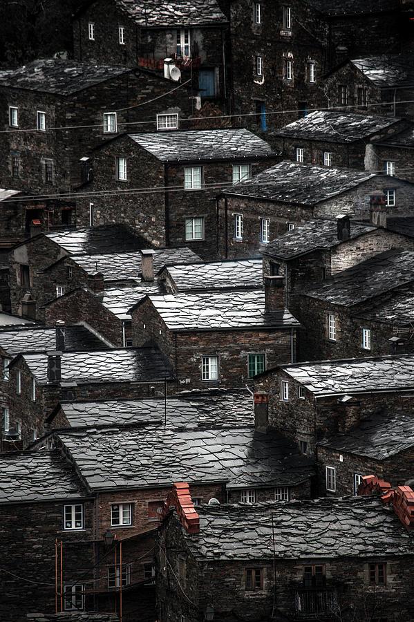 Piodao,  Slate Roofs Photograph by Photo By Ahmad Kavousian