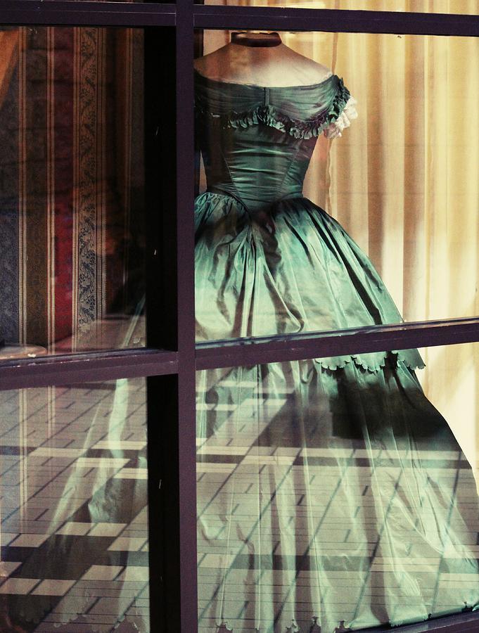 Pioneer Lady's Dress.... by The Art Of Marilyn Ridoutt-Greene