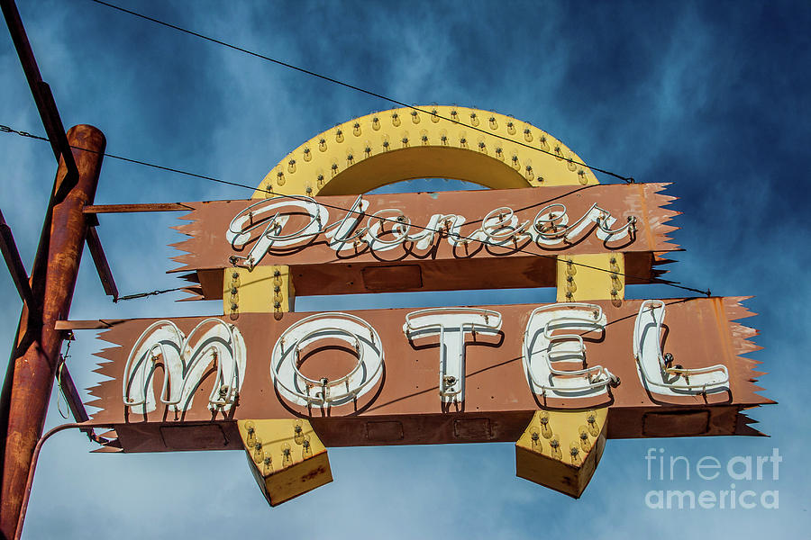 Pioneer Motel by Tony Baca