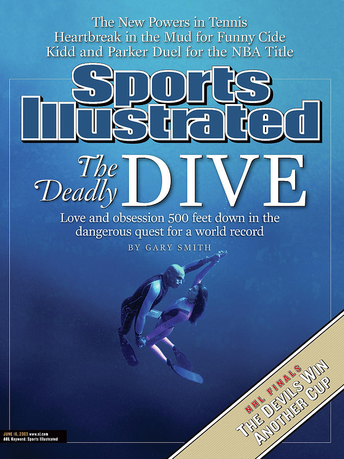 Pipin And Audrey Ferreras, Free Diving Sports Illustrated Cover Photograph by Sports Illustrated