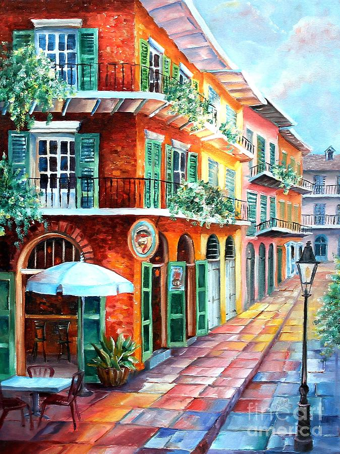 Pirate's Alley Cafe by Diane Millsap