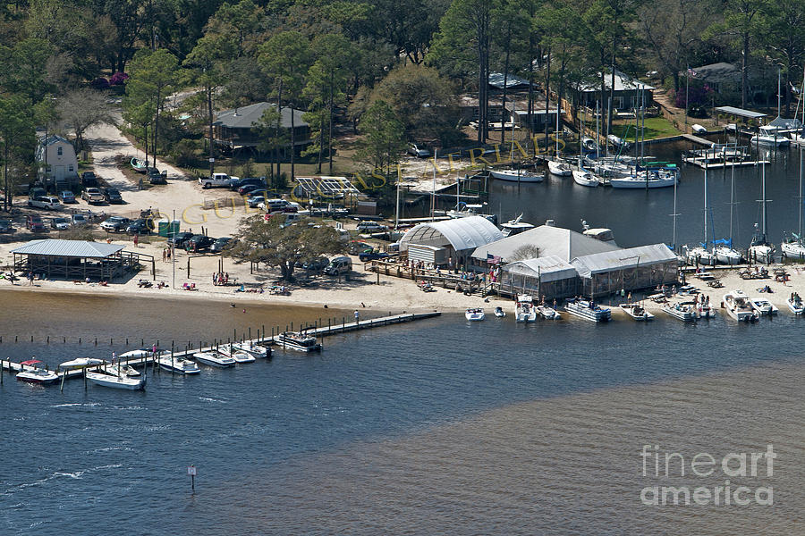 Pirates Cove - Natural by Gulf Coast Aerials -