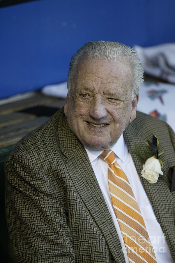 Pirates Ralph Kiner Photograph by George Gojkovich