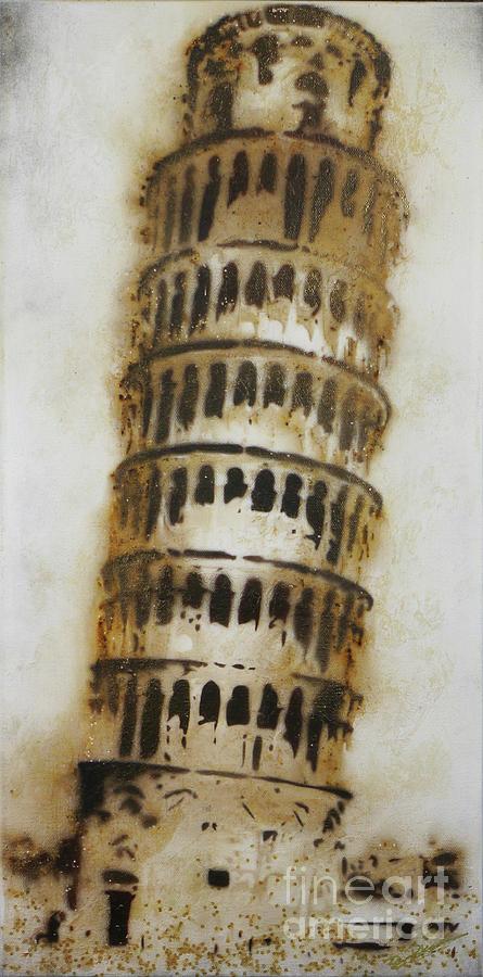 Pisa Pyrography - Pisa by Brandi Pfleider