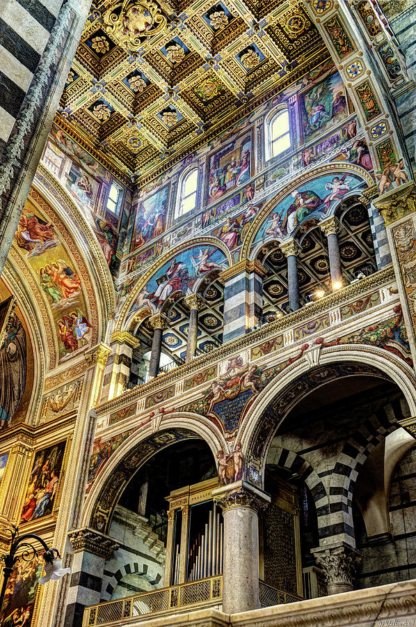 Pisa Duomo Arches by Weston Westmoreland