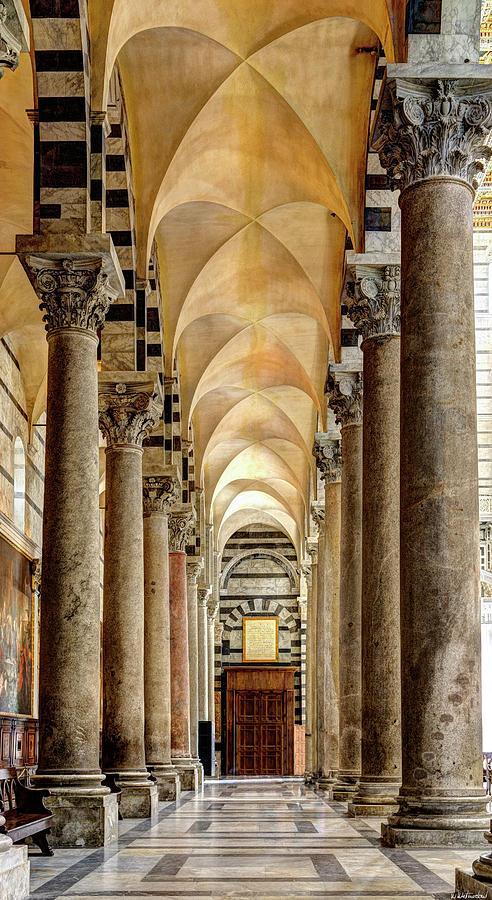 Pisa Duomo Colonnade by Weston Westmoreland