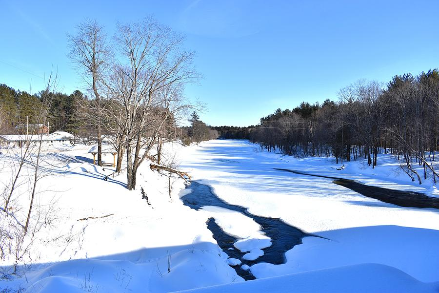 Piscataquis River in Winter by Nina Kindred