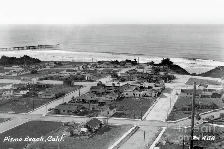 Pismo Beach, San Luis Obispo County, California by California Views Archives Mr Pat Hathaway Archives
