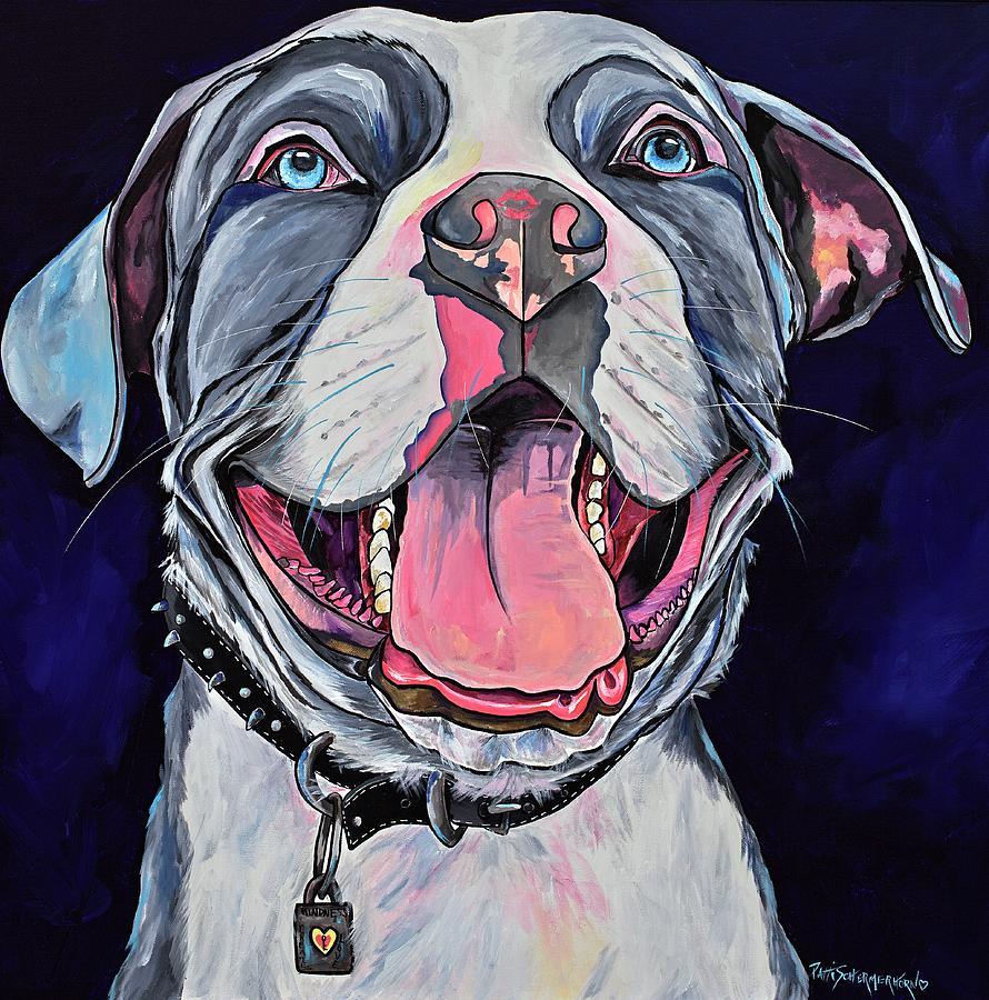 Pit Bull Love by Patti Schermerhorn