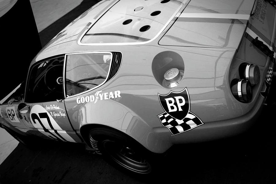 Ferrari Pyrography - Pit Stop Check by Naxart Studio