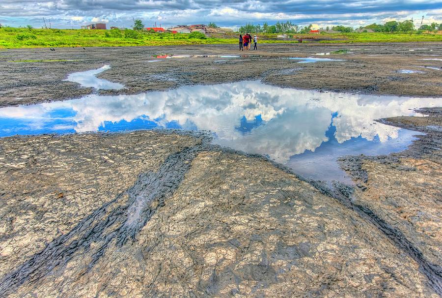Pitch Lake, Trinidad by Nadia Sanowar