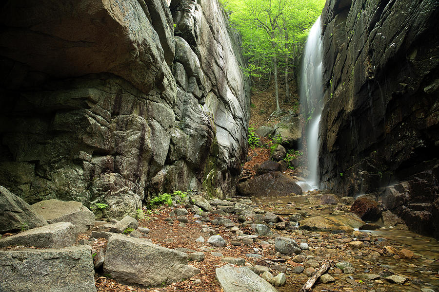Pitcher Falls, New Hampshire by Greg Parsons