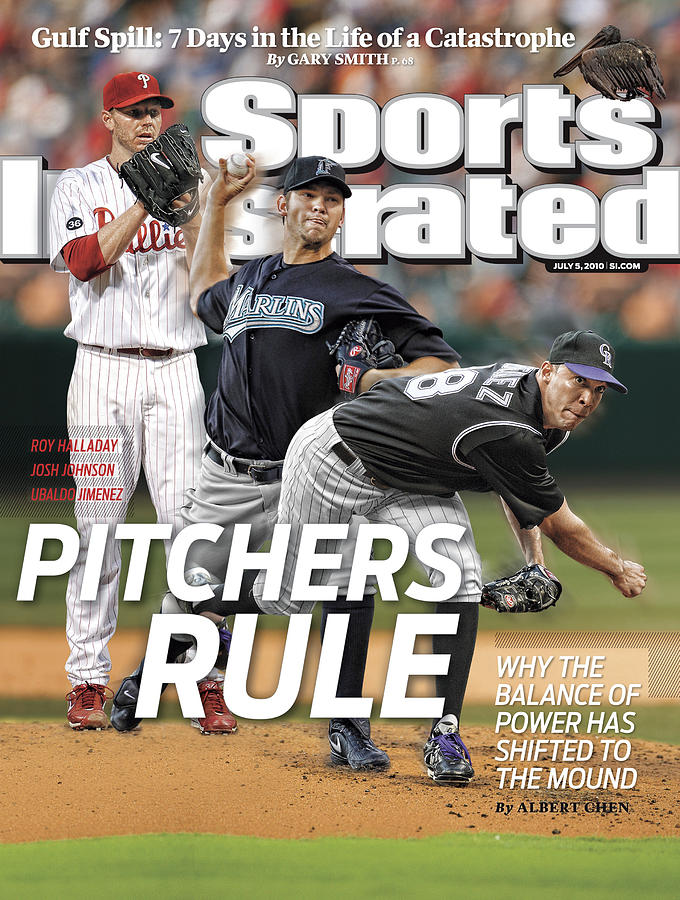 Pitchers Rule Why The Balance Of Power Has Shifted To The Sports Illustrated Cover Photograph by Sports Illustrated