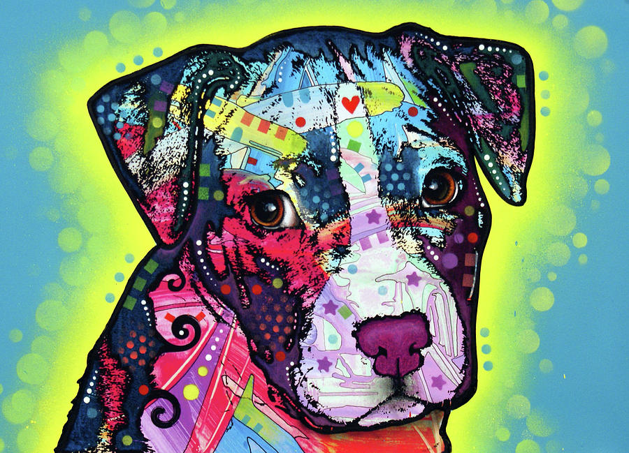 Pitty Puppy by Dean Russo Art