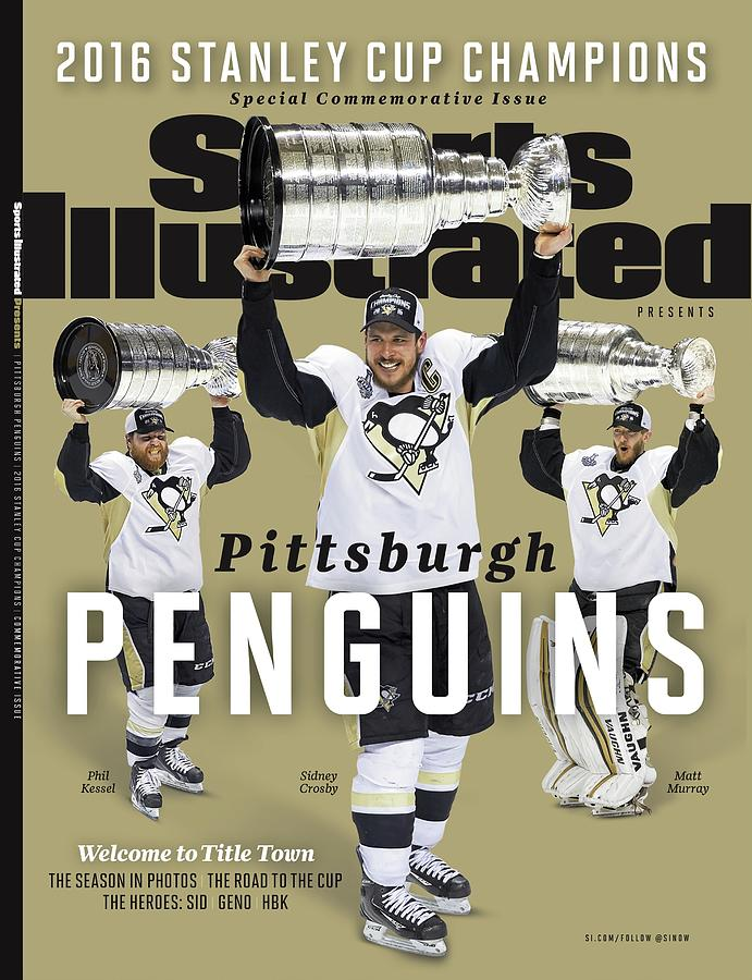 Pittsburgh Penguins 2016 Stanley Cup Champions Sports Illustrated Cover Photograph by Sports Illustrated