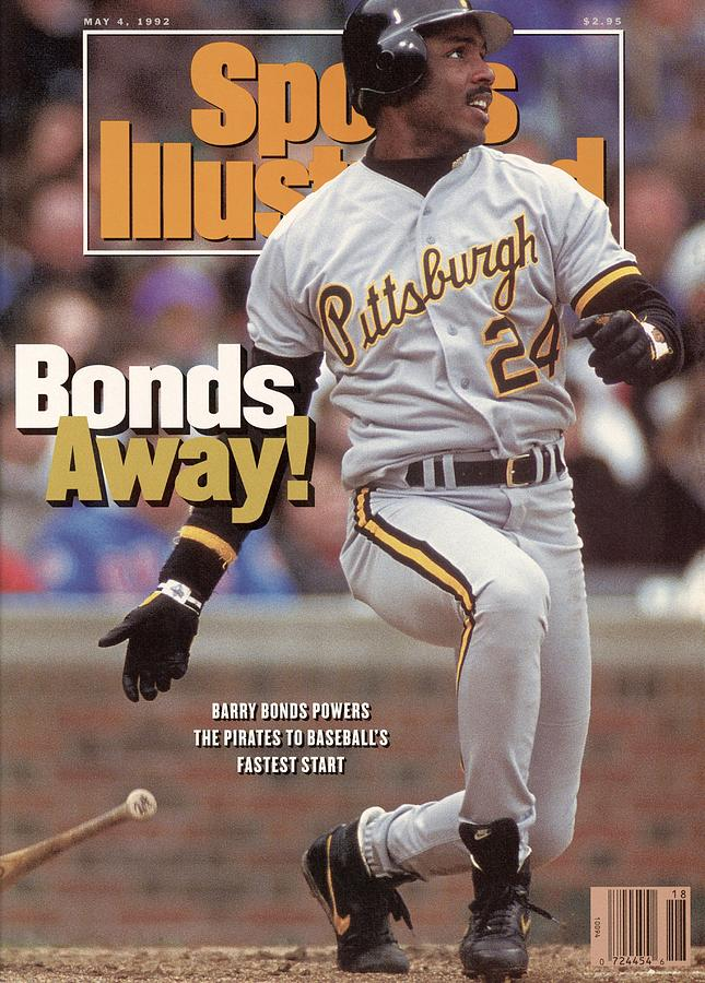 Pittsburgh Pirates Barry Bonds... Sports Illustrated Cover Photograph by Sports Illustrated