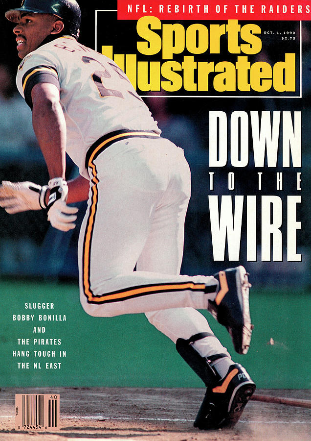 Pittsburgh Pirates Bobby Bonilla... Sports Illustrated Cover Photograph by Sports Illustrated