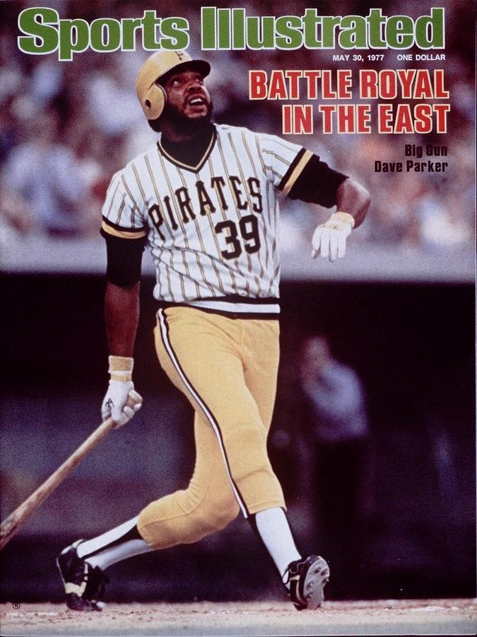 Pittsburgh Pirates Dave Parker... Sports Illustrated Cover Photograph by Sports Illustrated