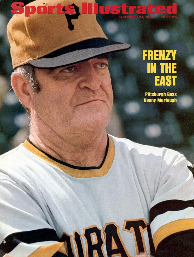 Pittsburgh Pirates Manager Danny Murtaugh Sports Illustrated Cover Photograph by Sports Illustrated