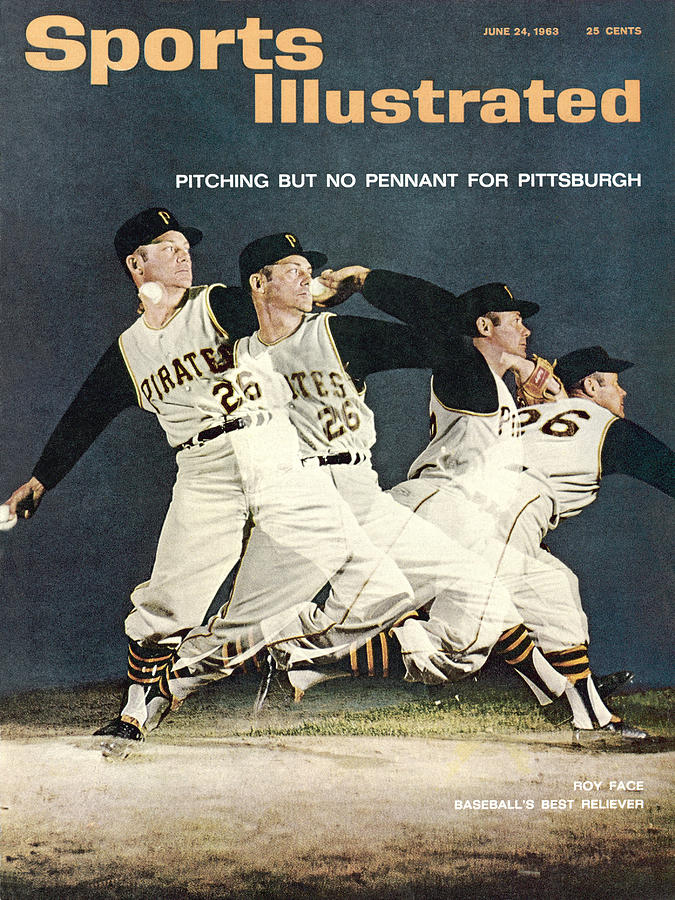 Pittsburgh Pirates Roy Face Sports Illustrated Cover Photograph by Sports Illustrated