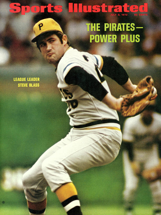 Pittsburgh Pirates Steve Blass... Sports Illustrated Cover Photograph by Sports Illustrated
