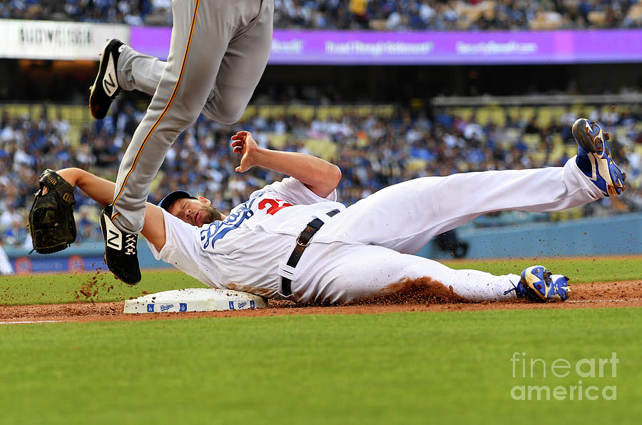 Pittsburgh Pirates  V Los Angeles Photograph by Jayne Kamin-oncea