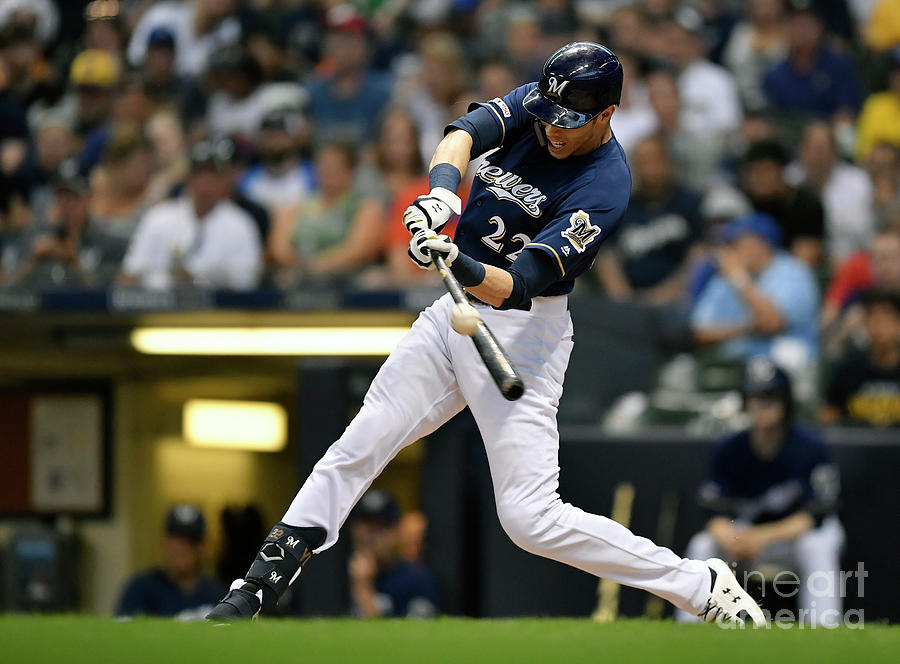 Pittsburgh Pirates  V Milwaukee Brewers Photograph by Quinn Harris