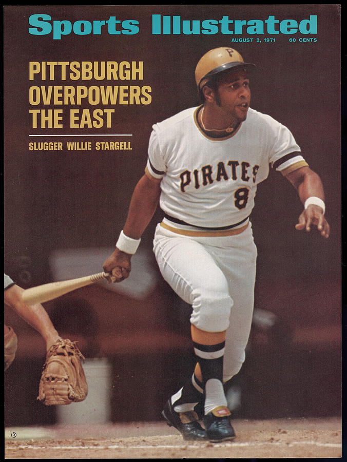 Pittsburgh Pirates Willie Stargell... Sports Illustrated Cover Photograph by Sports Illustrated