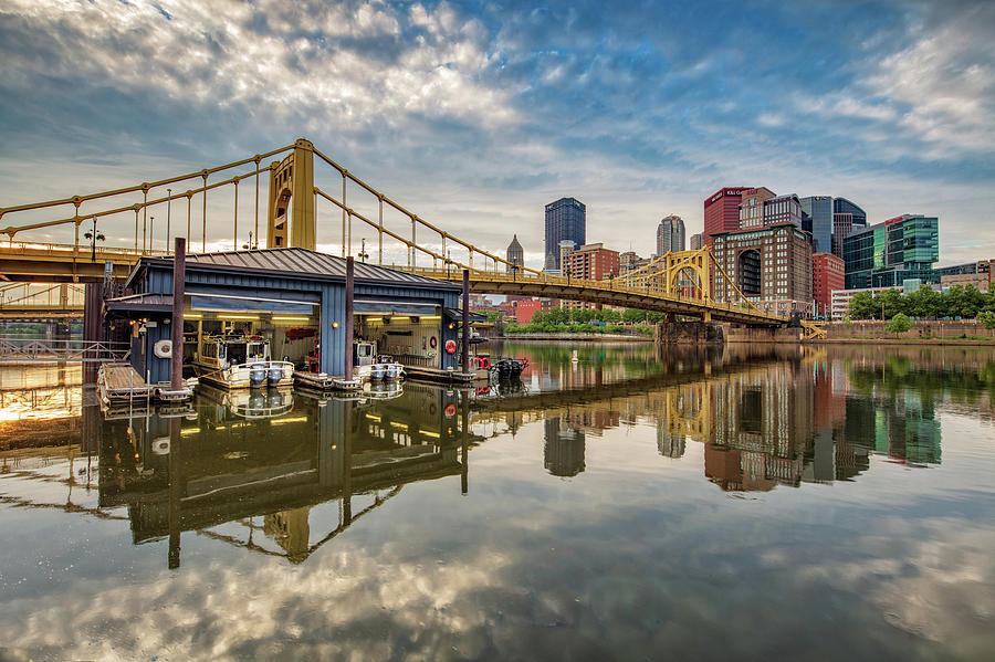 Pittsburgh river rescue  by Emmanuel Panagiotakis