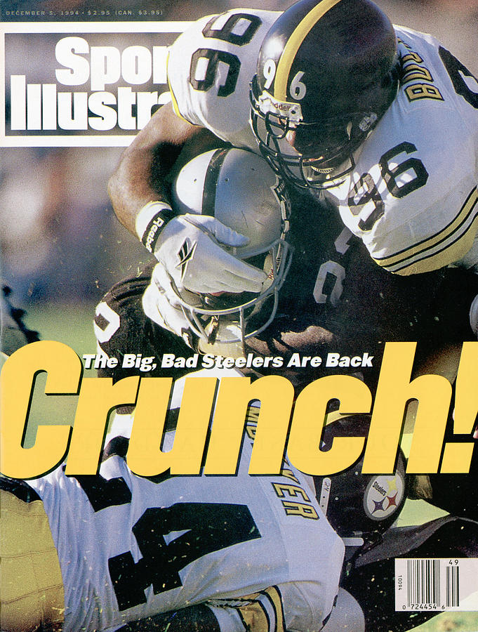 Pittsburgh Steelers Brentson Buckner... Sports Illustrated Cover Photograph by Sports Illustrated