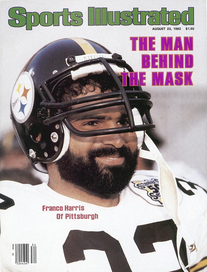 Pittsburgh Steelers Franco Harris Sports Illustrated Cover Photograph by Sports Illustrated