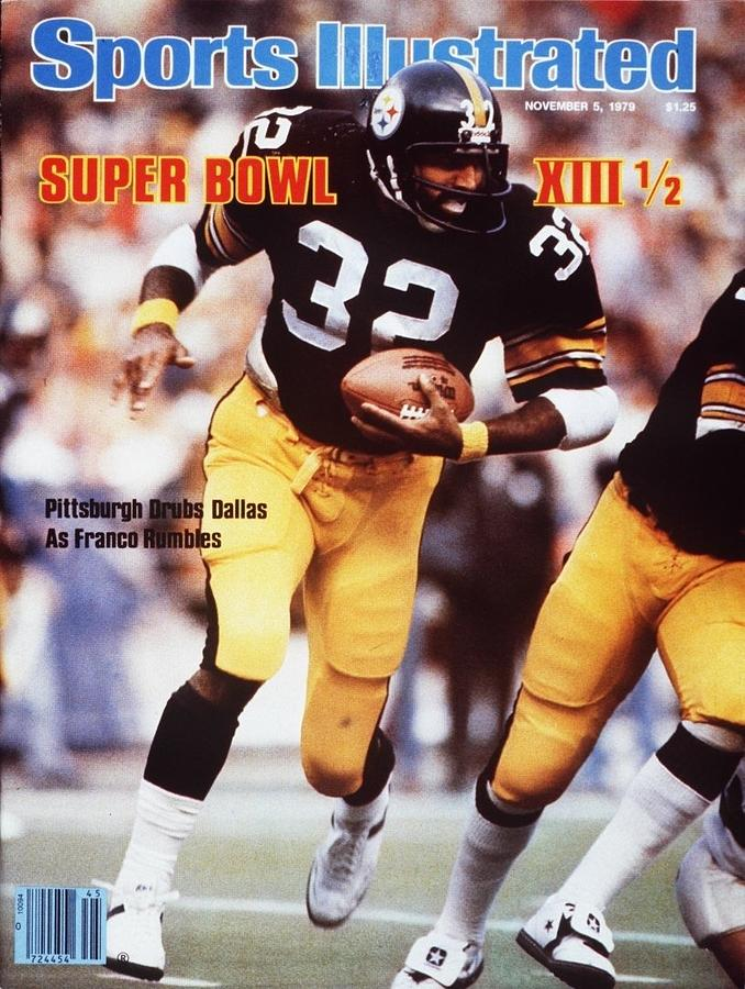 Pittsburgh Steelers Franco Harris... Sports Illustrated Cover Photograph by Sports Illustrated