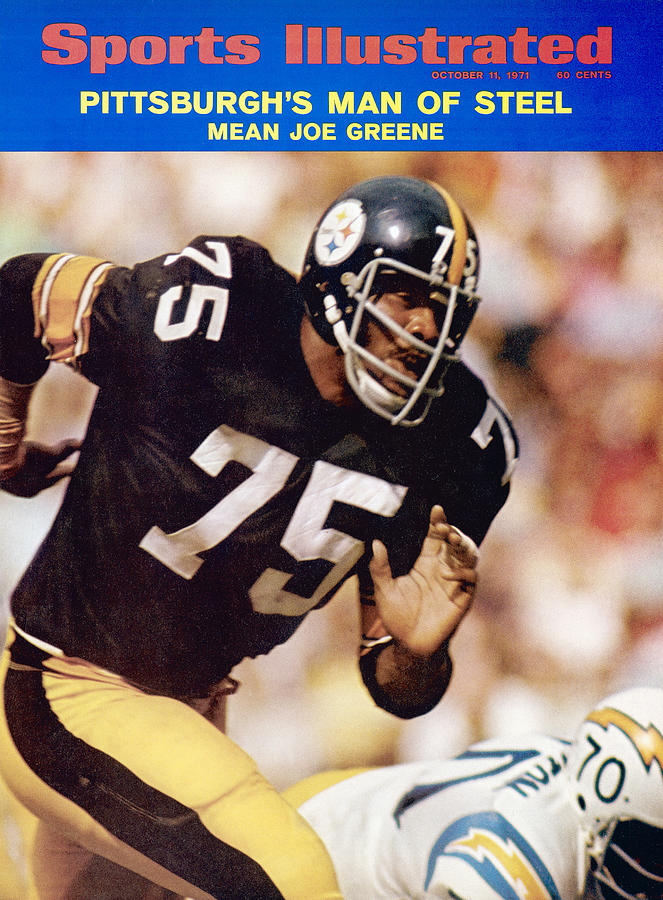 Pittsburgh Steelers Joe Greene... Sports Illustrated Cover Photograph by Sports Illustrated
