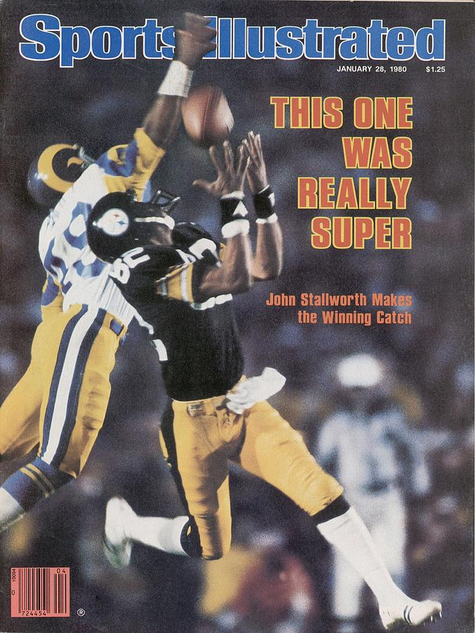Pittsburgh Steelers John Stallworth, Super Bowl Xiv Sports Illustrated Cover Photograph by Sports Illustrated