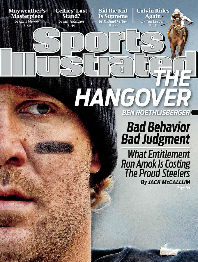 Pittsburgh Steelers Qb Ben Roethlisberger... Sports Illustrated Cover Photograph by Sports Illustrated
