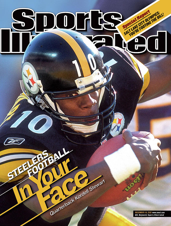 Pittsburgh Steelers Qb Kordell Stewart Sports Illustrated Cover Photograph by Sports Illustrated