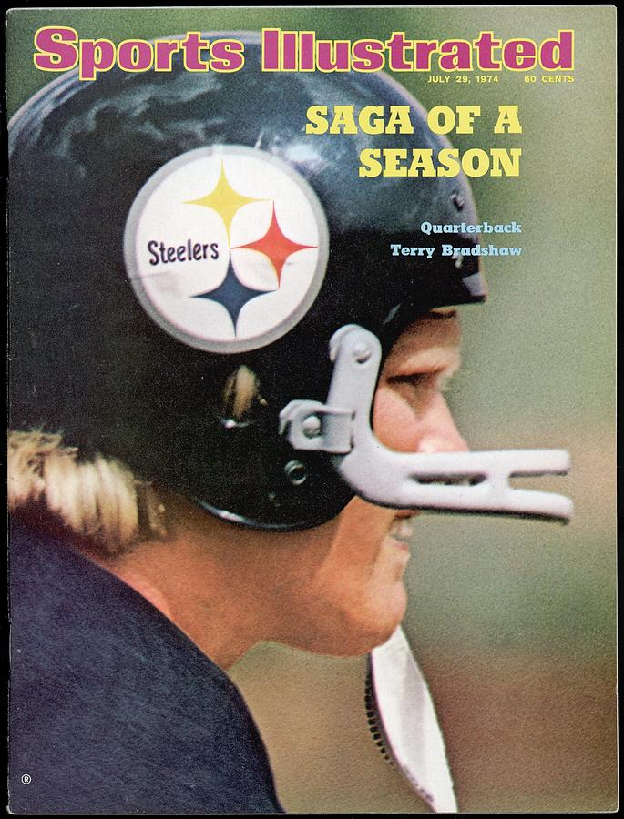 Pittsburgh Steelers Qb Terry Bradshaw Sports Illustrated Cover Photograph by Sports Illustrated