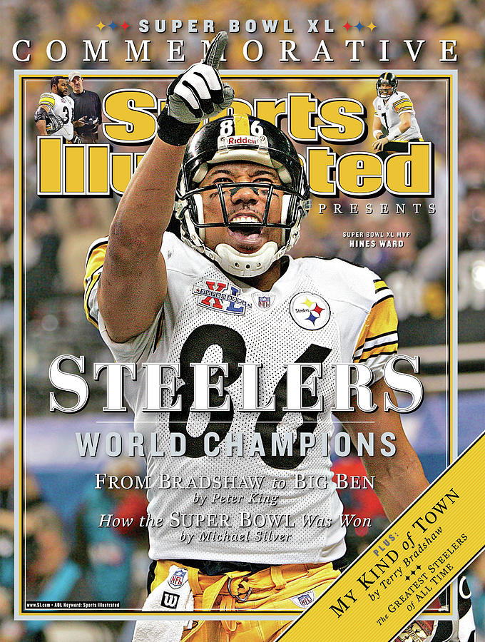 Pittsburgh Steelers Super Bowl Xl Champions Sports Illustrated Cover Photograph by Sports Illustrated