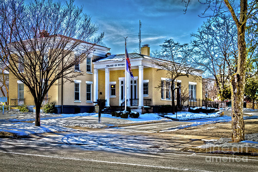 Pittsford Photograph - Pittsford Village Hall by William Norton