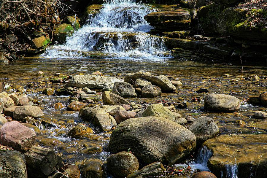 Pixley Falls by John Bauer