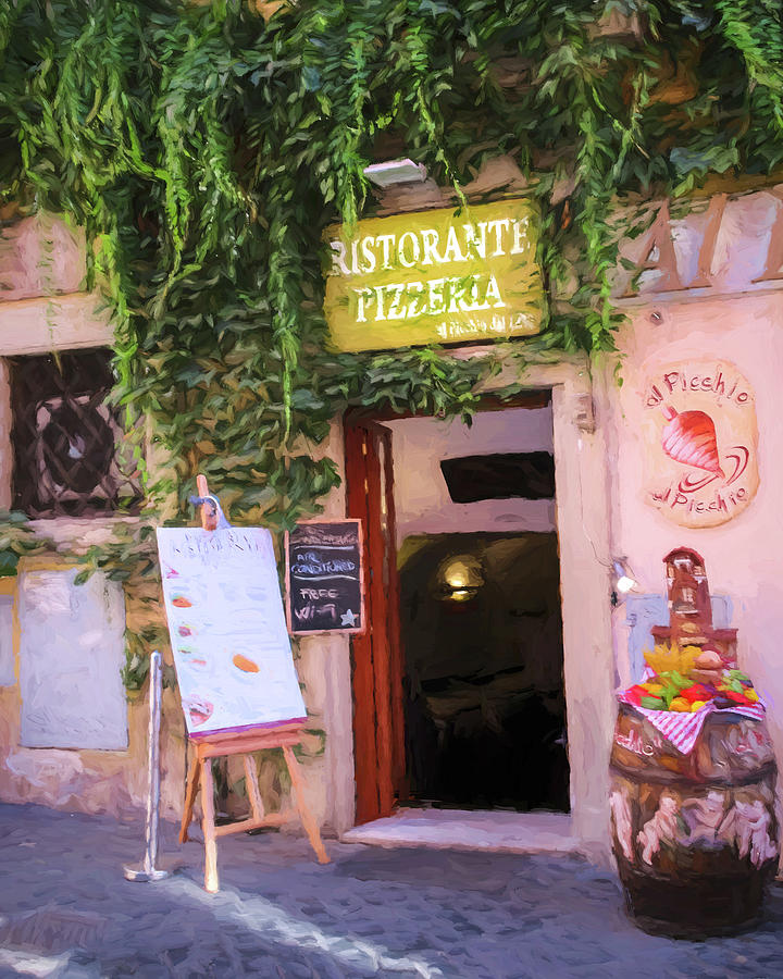 Pizzeria in Rome by TONY GRIDER