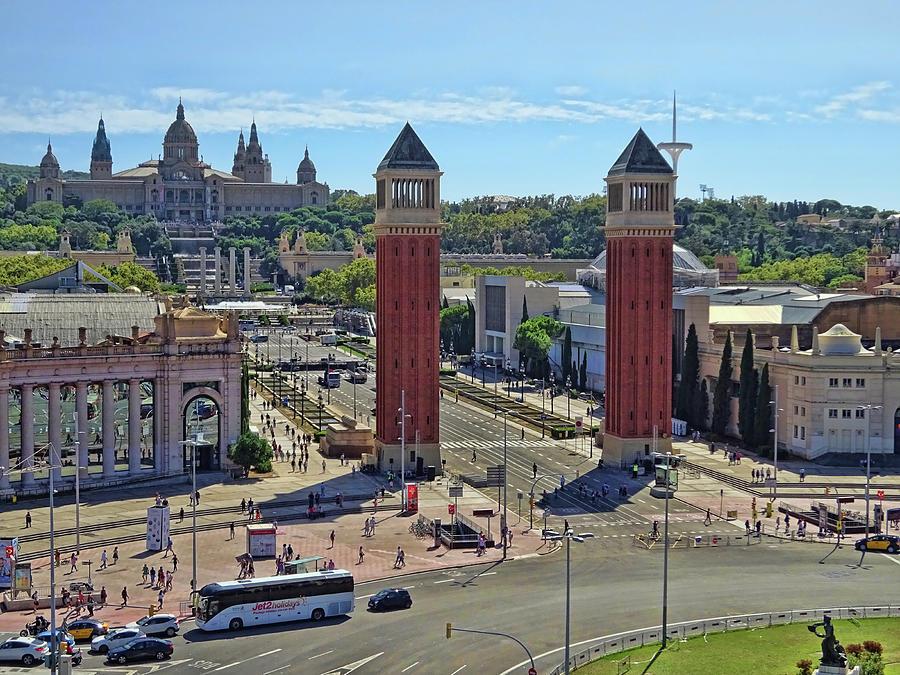 Placa Despanya  # 2 - Barcelona Photograph