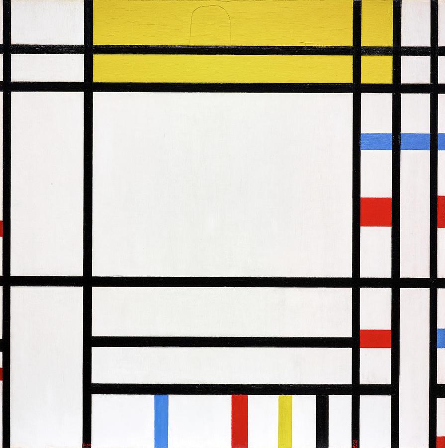 Piet Mondrian Painting - Place De La Concorde by Piet Mondrian