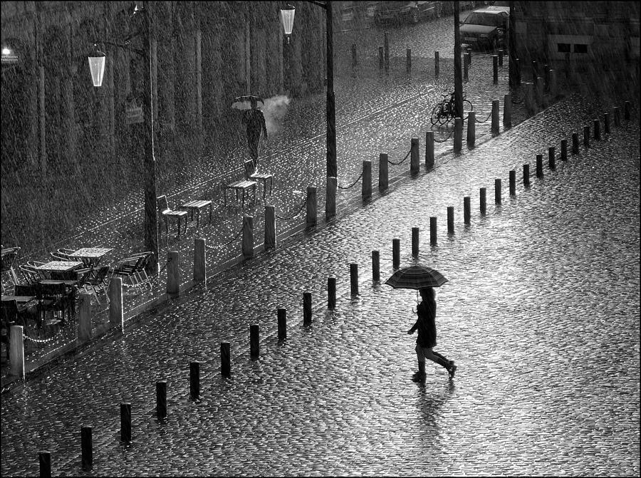 France Photograph - Place Des Ha©ros by Laurent Bailleul