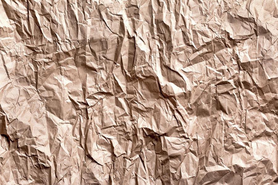 Paper Photograph - Plain Brown Wrapper by Tom Mc Nemar
