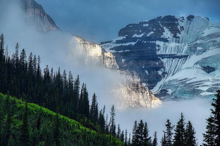 Plain of Six Glaciers Sunrise by Andy Konieczny